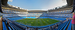 MADRID, SPAIN - Tuesday, February 24, 2009: A general view of Real Madrid Santiago Bernabeu Stadium. (Photo by David Rawcliffe/Propaganda)