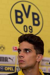 Bad Ragaz, Schweiz 04.08.2016, Trainingslager BV Borussia Dortmund, BVB, Pressekonferenz, press conference, PK,  Marc Bartra (BVB)  / 040816<br /> <br /> ***Training camp of Borussia Dortmund in Bad Ragaz, Switzerland, August 4th, 2016***