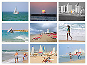 Israel, Tel Aviv 9 image collage