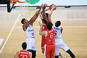 ILYASOVA<br /> Nazionale Italiana Maschile Senior - 2019 Torneo dell'Acropoli<br /> Italia Italy Turchia Turkey<br /> FIP 2019<br /> Atene, 18/08/2019<br /> Foto GiulioCiamillo/Ciamillo