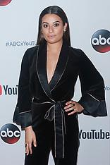 Lea Michele at YouTube TV - 24 Sep 2017
