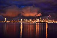 Seattle Skyline & Elliott Bay