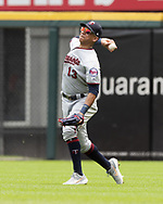 CHICAGO - JUNE 30:  Ehire Adrianza #13 of the Minnesota Twins fields against the Chicago White Sox on June 30, 2019 at Guaranteed Rate Field in Chicago, Illinois.  (Photo by Ron Vesely)  Subject:  Ehire Adrianza