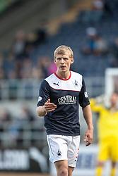 Falkirk's Stephen Kingsley.<br /> Falkirk 3 v 1 Morton, Scottish Championship 17/8/2013.<br /> ©Michael Schofield.