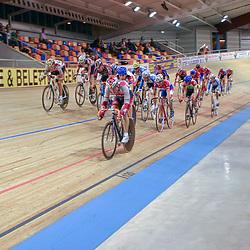 ALKMAAR (NED) wielrennen<br /> NK Baanwielrennen ; mannen 2004,; Klassement
