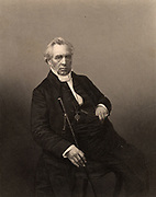 Samuel Dousland Waddy (1804-1876) English Wesleyan minister born at Burton-on-Trent. President of the Wesleyan Conference 1859. Engraving from 'The Illustrated News of the World' (London, c1860).
