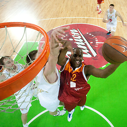 20110223: SLO, Basketball - Euroleague Top 16, Union Olimpija Ljubljana vs Lottomatica Roma