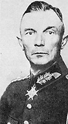 Fedor von Bock (1880-1945) German army officer. Rose to rank of Field Marshal. Commanded invasion of Vienna, 1938, of Czechoslovakia, Army Group B for invasion of France, 1940, Operation Typhoon the failed attack on Moscow.