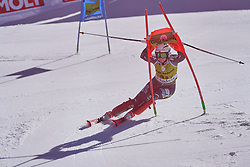 March 15, 2019 - Andorra - Thea Louise STJERNESUND during of the Alpine Team's race, Audi Fis Alpine Ski World Cup, Finals Round, on March 15, 2019 in Soldeu - El Tarter, Andorra (Credit Image: © AFP7 via ZUMA Wire)