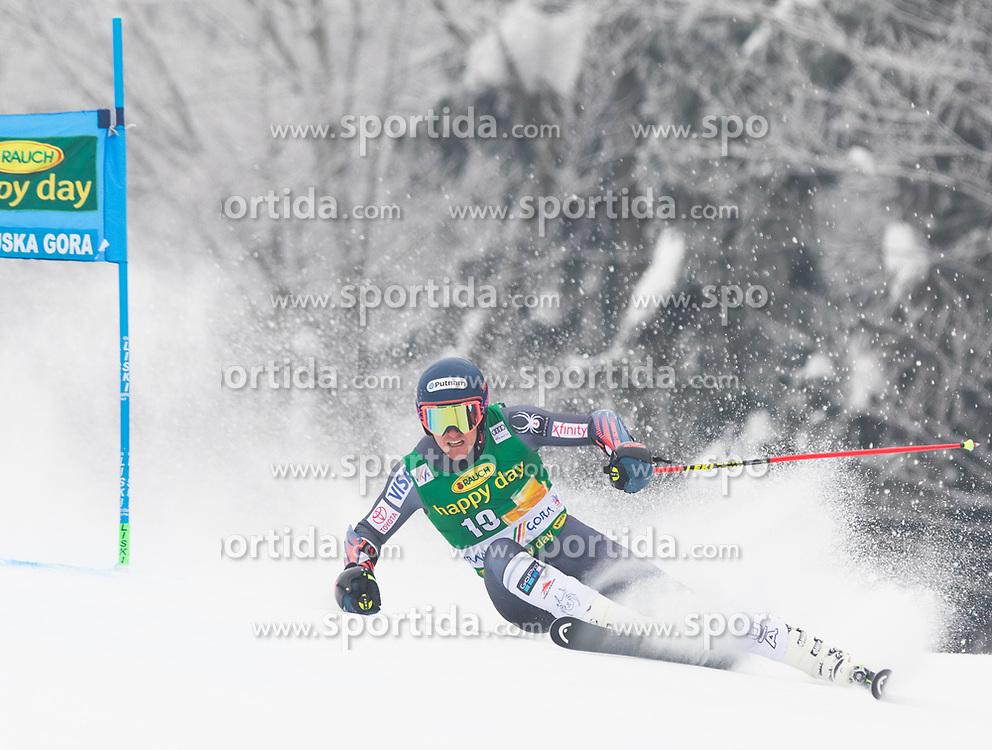 Ted Ligety of USA during 1st run of Men's Giant Slalom race of FIS Alpine Ski World Cup 57th Vitranc Cup 2018, on 3.3.2018 in Podkoren, Kranjska gora, Slovenia. Photo by Urban Meglič / Sportida