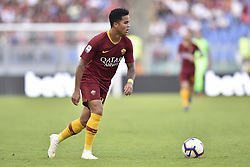 October 20, 2018 - Rome, Rome, Italy - Justin Kluivert of AS Roma during the Serie A match between Roma and SPAL at Stadio Olimpico, Rome, Italy on 20 October 2018  (Credit Image: © Giuseppe Maffia/NurPhoto via ZUMA Press)