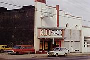 CS03013 Walnut Park Theater 5029 NE Union near Alberta Feb. 6, 1974 . Demolished to make room for Vanport Square, now vacant lot.