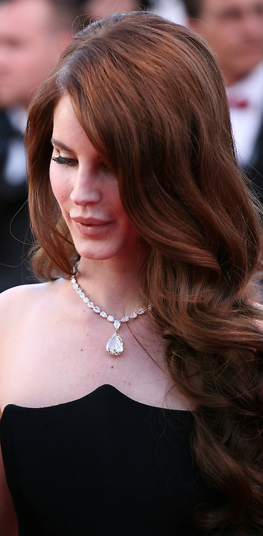Lana Del Rey at the gala screening of the film Moonrise Kingdom at the 65th Cannes Film Festival. Wednesday 16th May 2012, the red carpet at Palais Des Festivals in Cannes, France.
