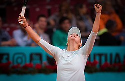 May 6, 2019 - Madrid, MADRID, SPAIN - Belinda Bencic of Switzerland in action during her second-round match at the 2019 Mutua Madrid Open WTA Premier Mandatory tennis tournament (Credit Image: © AFP7 via ZUMA Wire)