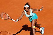 Roland Garros. Paris, France. May 29th 2012.American player Serena WILLIAMS against Virginie RAZZANO.