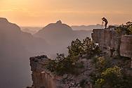 Yaki Point, photographer, Grand Canyon National Park, Arizona