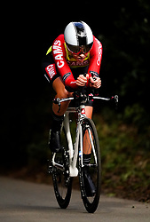 Katie Scott of CAMS - Basso during the Stage Three Individual Time Trial of the AJ Bell Women's Tour in Atherstone, UK. Picture date: Wednesday October 6, 2021.