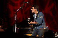 John Mayer performs at the Global Citizen's Festival in New York's Central Park. <br /> <br /> The free, ticketed event is part of the Global Citizen platform, a social media and live-event campaign. Musicians and celebrities join dignitaries and philanthropists to urge world leaders to act towards ending extreme poverty by 2030. Free tickets were earned by fans who logged on to www.globalfestival.com to learn and share content about four main themes: education, women's equality, global health and global partnerships.<br /> <br /> (Photo by Robert Caplin) 2013 Global Citizen's Festival. <br /> <br /> Photo ©Robert Caplin