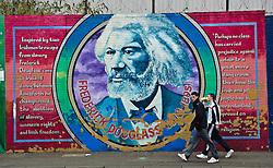 Murals in the Falls Road, Belfast, Northern Ireland<br /> <br /> (c) Andrew Wilson | Edinburgh Elite media