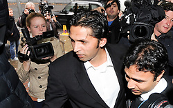 © London News Pictures. 03/11/2011. London, UK. Former Pakistan cricketer Mohammad Asif arriving at Southwark Crown Court, London today (03/11/2011) where he is due to be sentenced for his part in a match-fixing scandal. Three Pakistan cricketers,  Salman Butt, Mohammad Asif and Mohammad Amir have been found guilty of conspiracy to cheat and conspiracy to obtain and accept corrupt payments.  Photo credit: Ben Cawthra/LNP