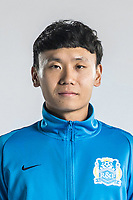 **EXCLUSIVE**Portrait of Chinese soccer player Zhang Chenlong of Guangzhou R&F F.C. for the 2018 Chinese Football Association Super League, in Guangzhou city, south China's Guangdong province, 23 February 2018.