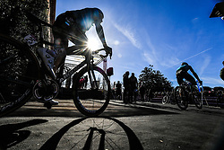 March 9, 2019 - Siena, Italia - Gian Mattia D'Alberto / lapresse.09-03-2019 Siena.Sport.Gara ciclistica Strade Bianche 2019 .nella foto: i corridori al podio firma..Gian Mattia D'Alberto  / lapresse.2019-03-09 Siena.Strade Bianche 2019 .in the photo: the Ryders at the signing podium. (Credit Image: © Gian Mattia D'Alberto/Lapresse via ZUMA Press)