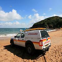 Lifeguards at Grev du leq, Jersey