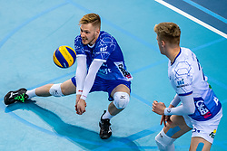 Steven Ottevanger of Lycurgus in action during the last final league match between Draisma Dynamo vs. Amysoft Lycurgus on April 25, 2021 in Apeldoorn.