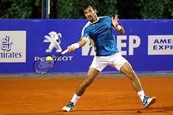 Dodig Ivan an Skugor Franko from Croatia at 1st round of doubles at Plava Laguna Croatia Open Umag, on July 18, 2017 in Stadium Gorana Ivanisevica, Umag, Croatia. Photo by Urban Urbanc / Sportida