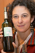 Sophie Guiraudon, owner winemaker. Clos Les Dimanches. Domaine de l'Anhel, Corbieres, Languedoc, Francee