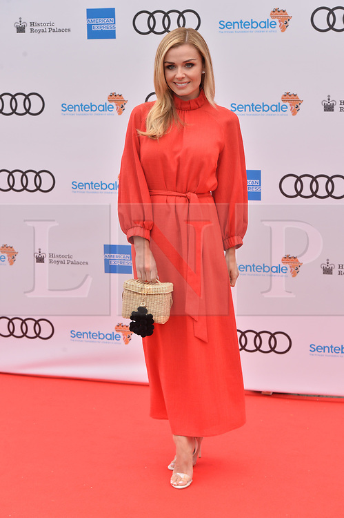 © Licensed to London News Pictures. 11/06/2019. London, UK. Katherine Jenkins attends the Sentebale Audi Concert at Hampton Court Palace. Photo credit: Ray Tang/LNP