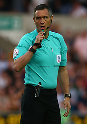 April 20, 2018 - London, United Kingdom - Referee Andra Marriner.during Championship match between Millwall against Fulham at The Den stadium, London  England on 20 April   2018. (Credit Image: © Kieran Galvin/NurPhoto via ZUMA Press)