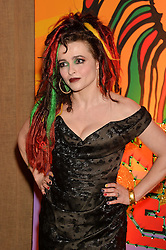 HELENA BONHAM-CARTER at A Night of Reggae in aid of Save The Children held at The Roundhouse, Chalk Farm Road, London NW1 on 12th March 2014.