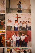 KHMER ROUGE CHRISTIANS. South East Asia, Cambodia, Pailin. Several high ranking ex Khmer Rouge officials including the notorious former Khmer Rouge prison chief Kaing Khek Lev, also known as Duch, have sympathies towards Christianity and Evangelism. Some have changed religion or even become Evangelist priests and pasteurs. Ex-Khmer Rouge buddhists have something to fear: Buddhism offers neither redemption or forgiveness; the Karma and the next life are affected by the present one. On the other hand, Christianity and Evangelism allow one to be born again, it forgives our sins and offers redemption. This proposition is far more attractive to those who orchestrated, organised and carried out mass murder, and torture on a grand scale, against the Cambodian people, leaving 2 million dead in the 1970's. American priests are working in Khmer Rouge strongholds, bringing their Evanglist message, and are having some success. Approved rules for UN-backed Khmer Rouge genocide trials are now in place. The highest ranking Duch is in prison, in Phnom Penh, ready to be tried. What role the Evangelists will play in this scenario is yet to be seen.///Faded photographs of Evangelist Christian Church run by and ex-Khmer Rouge pasteur
