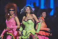 The Pointer Sisters at the Martin Luther King Jr Gala at the Kennedy Center for the Performing Arts in February 1986..Photograph by Dennis Brack bb32