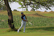 Adrien Saddier (FRA) on the 17th during Round 4 of the Oman Open 2020 at the Al Mouj Golf Club, Muscat, Oman . 01/03/2020<br /> Picture: Golffile   Thos Caffrey<br /> <br /> <br /> All photo usage must carry mandatory copyright credit (© Golffile   Thos Caffrey)