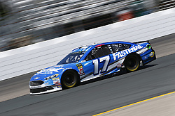 July 20, 2018 - Loudon, New Hampshire, United States of America - Ricky Stenhouse, Jr (17) takes to the track to practice for the Foxwoods Resort Casino 301 at New Hampshire Motor Speedway in Loudon, New Hampshire. (Credit Image: © Justin R. Noe Asp Inc/ASP via ZUMA Wire)