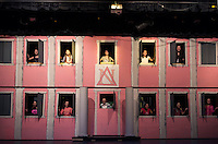 Gilford Middle School dress rehearsal for Legally Blonde musical.  Karen Bobotas for the Laconia Daily Sun