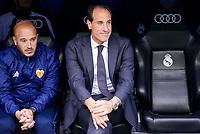 Valencia CF's coach Salvador Gonzalez Marco Voro during La Liga match between Real Madrid and Valencia CF at Santiago Bernabeu Stadium in Madrid, April 29, 2017. Spain.<br /> (ALTERPHOTOS/BorjaB.Hojas)