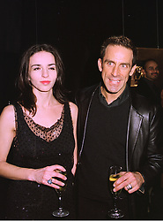 MISS DEBBIE LOVEJOY and top fashion designer BEN DE LISI,  at a party in London on 26th February 1998.MFU 5