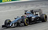 Jenson Button (McLaren Mercedes)<br /> Formel 1, Grosser Preis Santander von Deutschland 2014, Hockenheimring<br /> Norway only<br /> F1