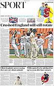March 07, 2021 (UK): Front-page: Today's Newspapers In United Kingdom