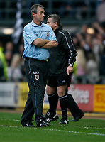 Photo: Steve Bond.<br />Derby County v Southampton. Coca Cola Championship. Play Off Semi Final, 2nd Leg. 15/05/2007. george Burley can't believe the early Derby goal