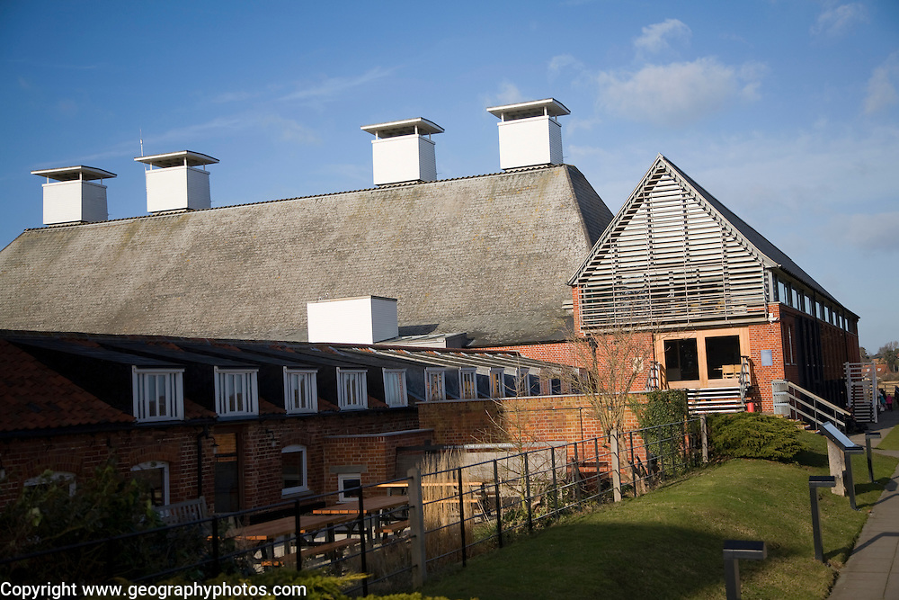 Snape maltings concert hall, Snape, Suffolk, England
