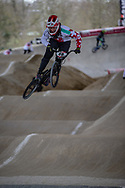 #48 (GRAF David) SUI at Round 2 of the 2018 UCI BMX Superscross World Cup in Saint-Quentin-En-Yvelines, France.