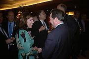 Amanda Platell and Liam Fox. 'Dirty politics, Dirty times: My fight with Wapping and New Labour' by Michael Ashcroft. Book launch party in aid of Crimestoppers. Riverbank Plaza Hotel. London SE1.      October 10 2005. ONE TIME USE ONLY - DO NOT ARCHIVE © Copyright Photograph by Dafydd Jones 66 Stockwell Park Rd. London SW9 0DA Tel 020 7733 0108 www.dafjones.com