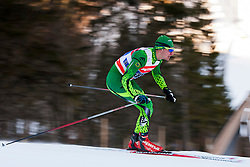 Jackson Bursill (AUS) during the Man team sprint race at FIS Cross Country World Cup Planica 2016, on January 17, 2016 at Planica, Slovenia. Photo By Urban Urbanc / Sportida
