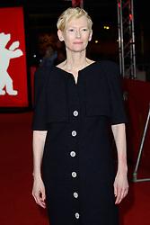 Tilda Swinton attending The Souvenir Premiere as part of the 69th Berlin International Film Festival (Berlinale) in Berlin, Germany on February 12, 2019. Photo by Aurore Marechal/ABACAPRESS.COM