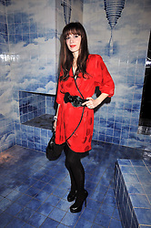 LARA BOHINC at the Prada Congo Art Party hosted by Miuccia Prada and Larry Gagosian at The Double Club, 7 Torrens Street, London EC1 on 10th February 2009.