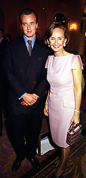 The MARQUESS OF BRISTOL and his mother YVONNE,<br />  MARCHIONESS OF BRISTOL, at a fashion show in London <br /> on 17th April 2000.OCY 32